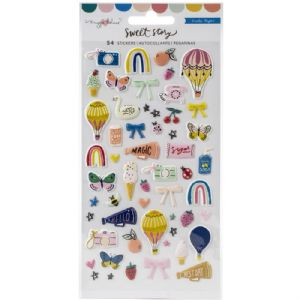 Crate - Sweet Story - Mini Puffy Stickers